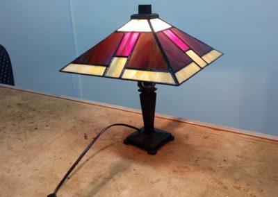 Lampa - tiffany vitráž